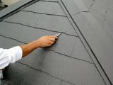 屋根塗装工事(コロニアル)