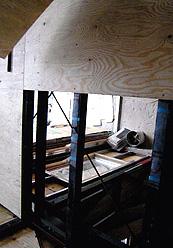 二階床(20m構造合板)